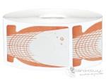 Szablony pomarańczowe wąskie 500 szt. - Bass